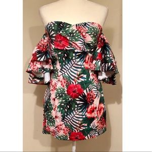 NWT Tropical Dress